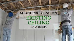 Soundproofing An Existing Ceiling In A Room  YouTubeSoundproof Ceiling Apartment