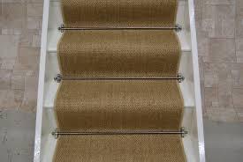 sisal natural flatweave stair runner 7m x 045m