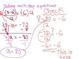 showme solving multi step equations algebra fractions with worksheet pdf last thumb13822 equations with fractions worksheet