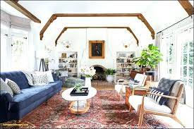 pottery barn living room colorful area rugs lovely country decorating ideas 5 pictures
