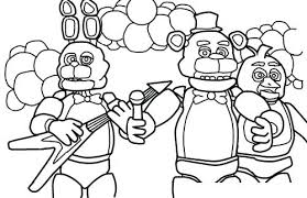 Fnaf Coloring Pages Nightmare Spring Sheets Puppet Auchmar