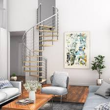 <b>Living Room Spiral</b> Staircases | Paragon Stairs