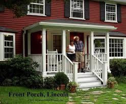 Small Picture Interior Fair Front Porch Portico Design Ideas With White Wood