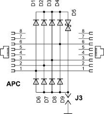 utp lightning protection schematics savel brain dump in english apc surge protector circuit