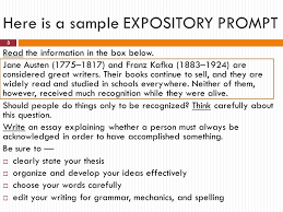 staar writing test the expository essay ppt video online here is a sample expository prompt
