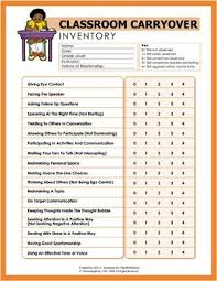 Social Skills Chart Social Skills Inventory Number These And Mount Chart In