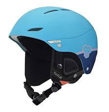 Amazon Com Bolle Juliet Ski Helmet Blue Flash 54 58cm