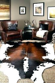 faux cow skin rug with jute i have this cowhide bought from sheepskin cleaning fake
