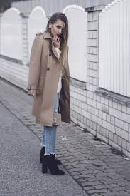 kensington trenchcoat von burberry in beige look a like blogpost outfit