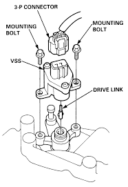 repair guides instruments and switches vehicle speed sensor 1 late model accords and preludes use an electronic speedometer that uses the pulses generated by the speed sensor to determine vehicle speed