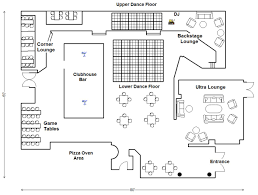 Clubhouse Floor Plan Design San Mateo Club Venue The Clubhouse Bistro