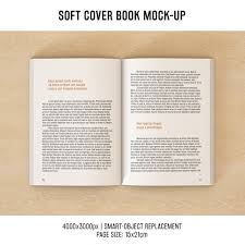 book pages mock up design free psd