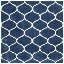 square area rugs collection navy and ivory rug 7 feet 7x7