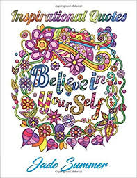 Stress Relief Quotes Simple Amazon Inspirational Quotes An Adult Coloring Book With