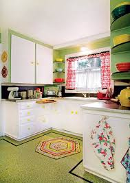 Linoleum Floor Kitchen The Best Flooring Choices For Old House Kitchens Old House