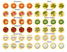 Small Picture pizza topping clip art Google Search Kindergarten Pinterest