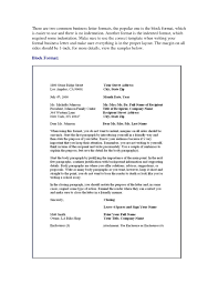 Business Letter Format Multiple Recipients Sa As Business Letter