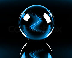 neon blue and black backgrounds. Perfect Black Bright Blue Abstract Waves In The Glass Sphere On Black Background   Stock Photo Colourbox On Neon Blue And Black Backgrounds S