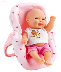 wolvol set of 6 mini dolls for girls with cradle high chair walker swing bathtub infant