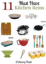 kitchen utensils list. 11 Must Have Kitchen Items Utensils List E