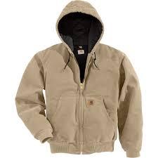 Carhartt Men's Sandstone Active Jacket — Quilted Flannel Lined ... & Carhartt Men's Sandstone Active Jacket — Quilted Flannel Lined, Tall Style,  Model# J130 Adamdwight.com