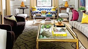 Innovative comfortable furniture small spaces top gallery Ideas Bold Patterns In Small Living Room Elle Decor Our Best Small Space Decorating Tricks You Should Steal