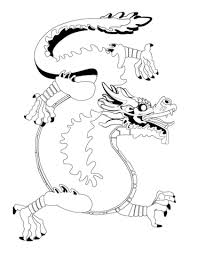 Chinese Dragon Coloring Page Free Printable Coloring Pages