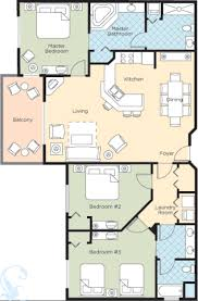 3 Bedroom Deluxe Units Are Very Nicely Finished. Full Furnished Kitchen And  Living Area Make For A Comfortable Stay. Master Suite With A King Bed, ...