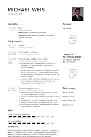 Busser Resume Samples VisualCV Resume Samples Database New Busser Resume