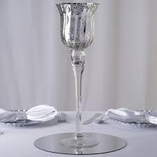 efavormart 15 tall silver mercury glass vase centerpiece 4 pcs com