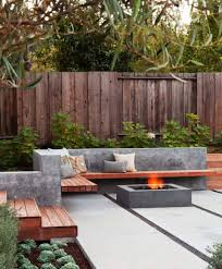 modern patio furniture bistro sets modern outdoor fire pit17
