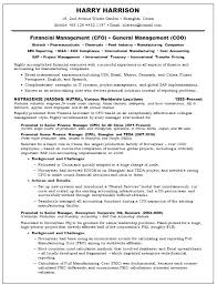 Cfo Resume Templates Best Of Cfo Resume Templates Gemalog