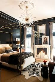 Gold Black Bedroom Ideas 2