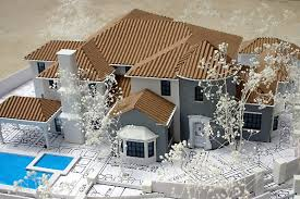 architectural engineering models. Architectural Model Image - Front View Engineering Models E