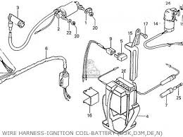 wire harness types auto electrical wiring diagram honda cd70k1 general export type 3 kmh parts list