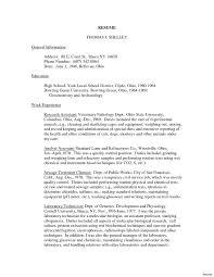 Sample Cover Letter For Resume Veterinary Technician Save Veterinary