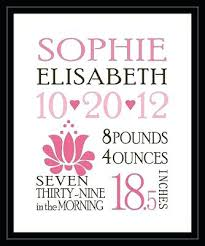 Printed Birth Announcement Print Your Own Birth Announcements Photo Birth Announcement Little