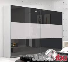 Led Bedroom Furniture Bedroom Furniture Neptun With Fronts In High Gloss And Led