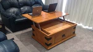 Innovative Pull Out Coffee Table Build A Coffee Table With A Lift Up Top Out  Of