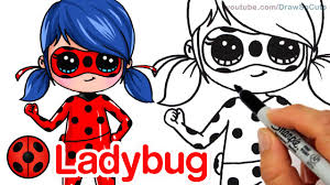 Just like f*r*i*e*n*d*s, step by step has this wonderful gallery of different personalities. How To Draw Miraculous Ladybug Kwami Tikki Easy Youtube