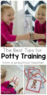 How To Use A Potty Training Chart And Visual Schedule For