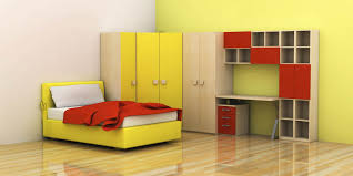 boys room furniture. Adorable Design Of The Bedroom Kids Areas With Yellow Wall Brown Wooden And Red Storage Boys Room Furniture