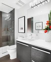 bathroom remodel ideas for small bathrooms mosaic ceramic tiles bathtub deck black tile floor brown