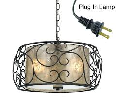 plug in hanging lamp brilliant pendant light lights lighting the with chandelier decorations 4
