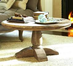 pedestal coffee table base pedestal coffee table round ideas about round wood coffee table on wood