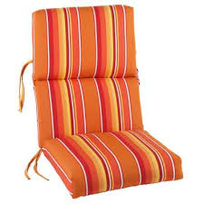 Gorgeous Outdoor Seat And Back Chair Cushions Sunbrella Dolce