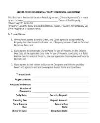 Lease Agreement Example Template Informal Rental Agreement Form Example Lease