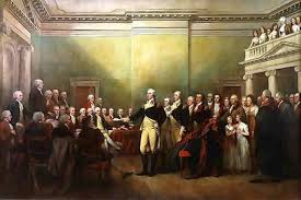 george washington my hero george washington resigning his commission as commander in chief of the army