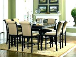 round glass dining table seats 8 extendable chairs kitchen cool room