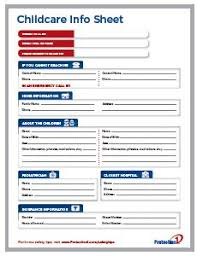 Emergency Contact Forms For Children Index Of Cdn 6 1996 89